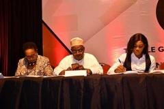 Directors; Chief Mrs Nkem Okoye and Mr Olusegun Olusanya